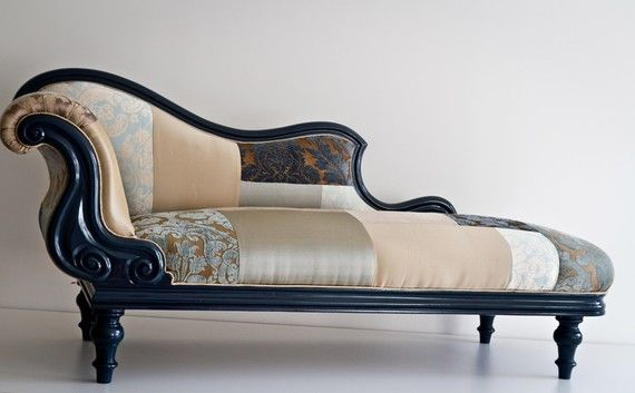 FAN of the chaise lounge - would use a different fabric!                                                                                                                                                                                 More