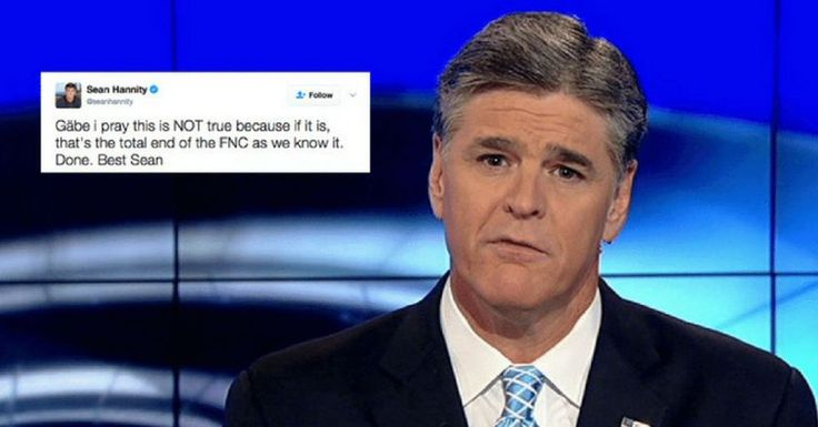 nice Fox News Channel's Sean Hannity Makes A Serious Threat As More Heads Start To Roll