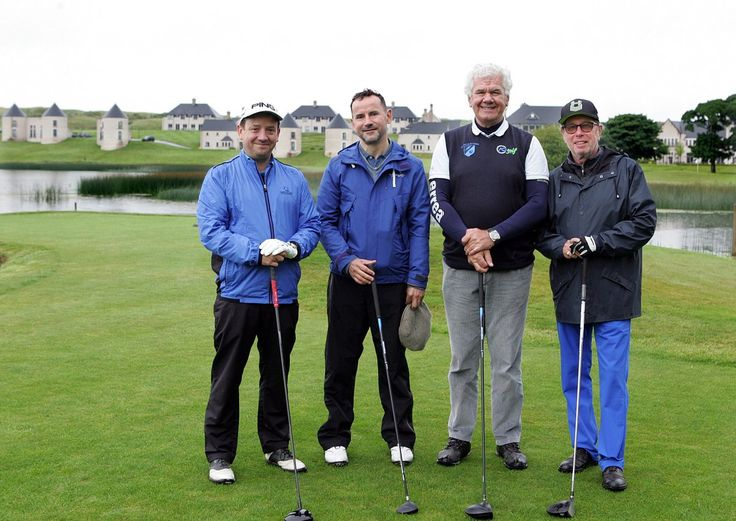 European journalists check out the fab facilities at the @LoughErneResort in Co Fermanagh