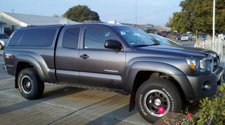 2014 Toyota Tacoma With Camper Shell Got My Camper Shell