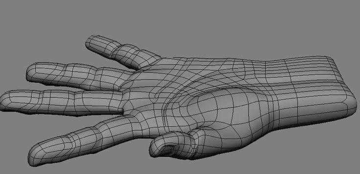 human hand topology 1-7