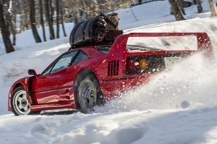 Ferrari F40 Snow Rally