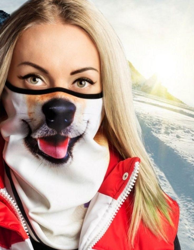 Teya Salat's Animal-Printed Ski Masks | POPSUGAR Fitness