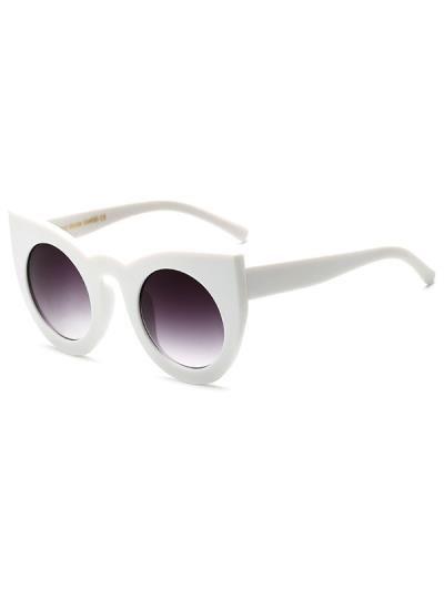 Lente redonda Cat Eye Sunglasses