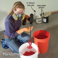 How to Apply Epoxy Floor Paint to Your Garage