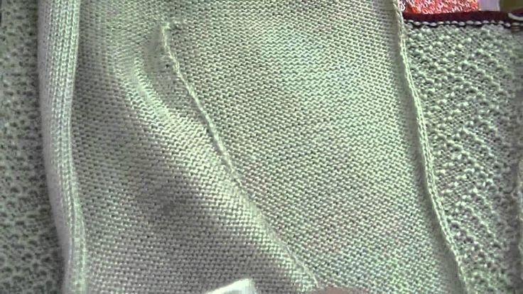Видео-анонс моего мастер класса по вязанию карманчиков.