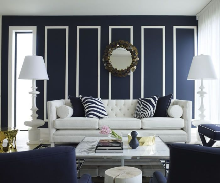 Dark Blue Gray Living Room 11 best blue decor design images on pinterest | living room ideas