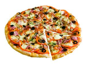 November 12th -- Pizza with the Works Except Anchovies Day