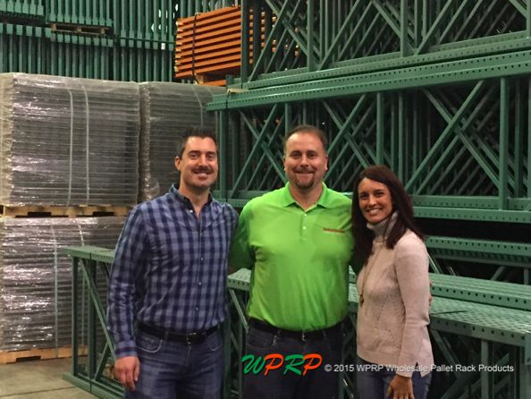 #MaterialHandling #FunFriday  Warehouse visits are always fun! This week, Joshua Smith and Linda Anlauf got to catch up with Eddie Murphy from SpaceGuard Products, at the WPRP East Stroudsburg Quick Ship location. Thanks for stopping by, Eddie!  www.wprpwholesalepalletrack.com