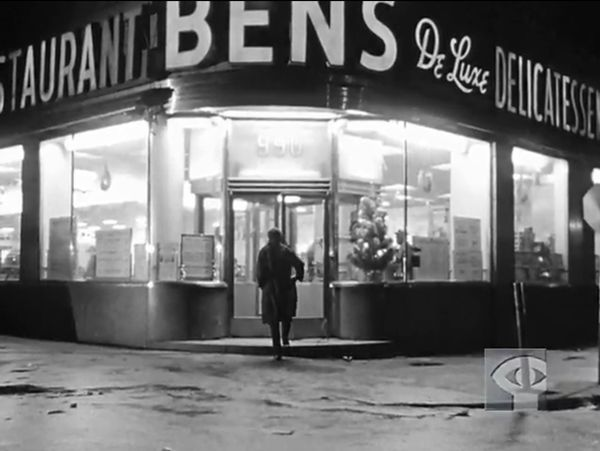 Ben's Montreal Deli used to be on 990 De Maisonneuve west (opposite of the Peel Metro station Metcafe exit) in downtown Montreal.