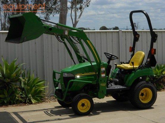 » 2006 John Deere 2305 For Sale Equipment Sales Australia