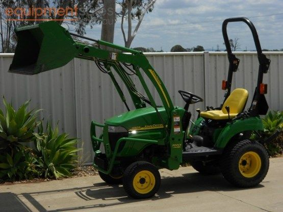 » 2006 John Deere 2305 For Sale Equipment Sales Australia