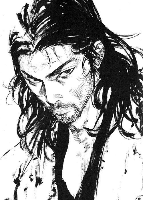 takehiko inoue / musashi ★ || CHARACTER DESIGN REFERENCES | キャラクターデザイン • Find more artworks at https://www.facebook.com/CharacterDesignReferences & http://www.pinterest.com/characterdesigh