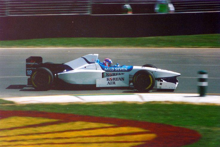Ukyo Katayama, Albert Park 1996, Tyrrell 024