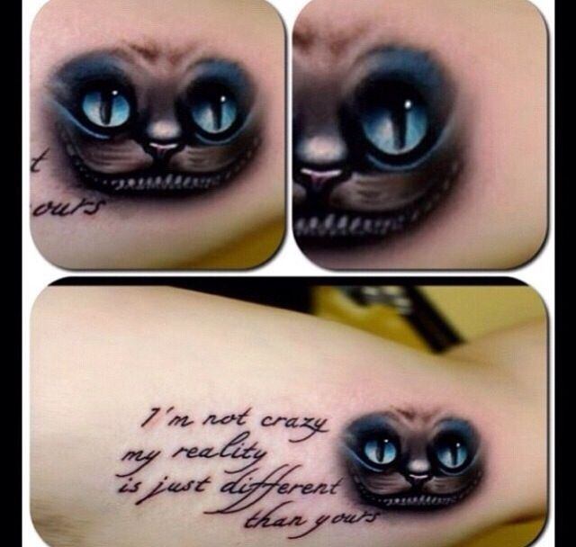 cheshire cat tattoo ideas | cheshire cat quote