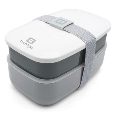 Bentgo - Bento Box / Lunchbox inkl. Besteck, Grau
