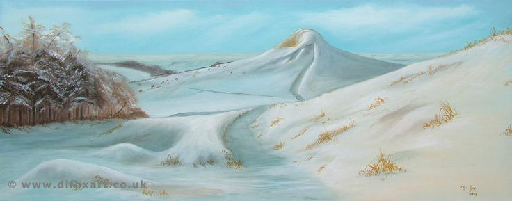 Original Oil painting of Roseberry Topping