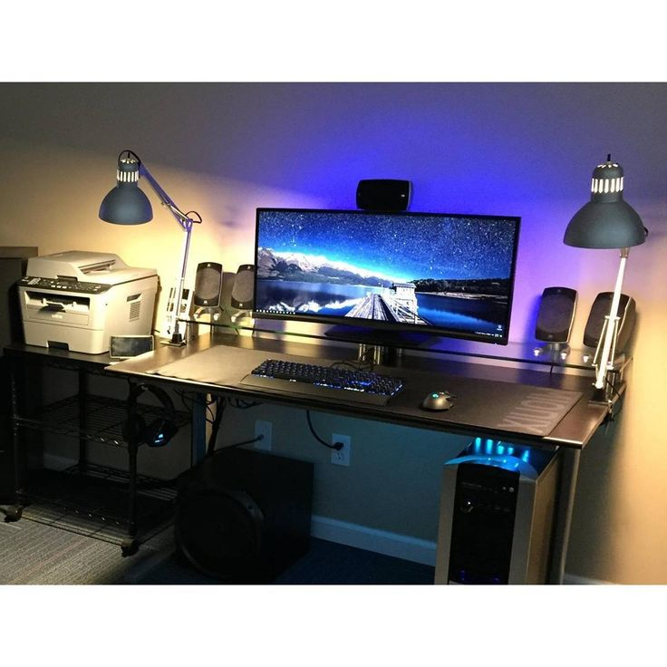 Best 25+ Pc desks ideas on Pinterest | Gaming desk, Cool computer ...