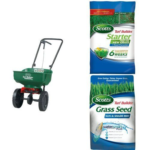 http://picxania.com/wp-content/uploads/2017/10/fall-grass-seed-project.jpg - http://picxania.com/fall-grass-seed-project/ - Fall Grass Seed Project -  Price:    Holds up to 5,000 sq. ft. of Scotts lawn productsFeatures Scotts exclusive EdgeGuard Technology2-in-1 Formula that feeds new grass and prevents weedsPrevents crabgrass & dandelions for up to 6 weeksGrows quicker, thicker, greener grass, guaranteedStays green even in extreme...