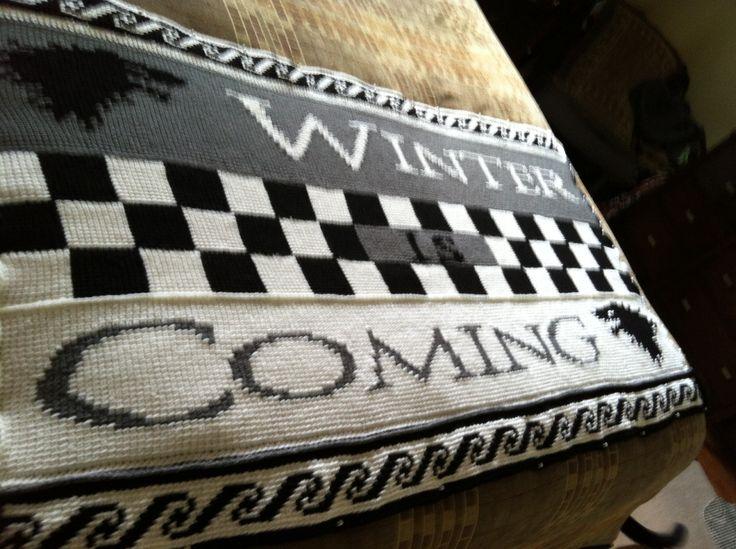 Game Of Thrones Crochet Blanket It S A Work In Progress
