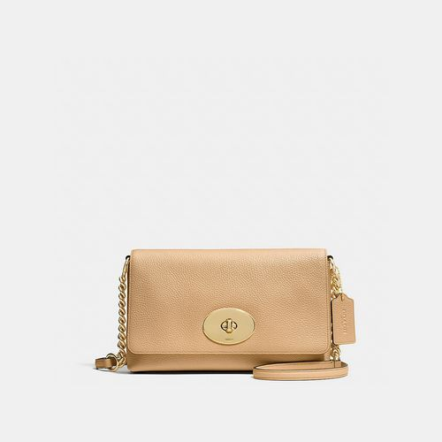 Coach Outlet Locations & COACH CROSSTOWN crossbody LIGHT GOLD/NUDE