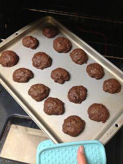 chocolate fudge zucchini cookies