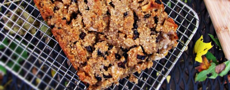 Quinoa Apple Cake - use a gluten free or whole wheat flour; add an egg for a firmer cake.