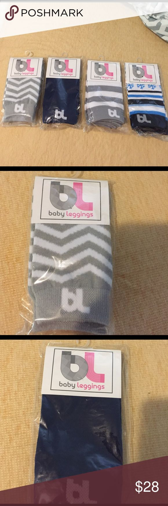 NWOT BabyLegs baby leggings(tall socks). BabyLegs baby leggings, which are just tall socks. Bought from babylegs.com for $12.00 each. All are in their original packaging and NEVER worn! Selling $10 each or will do $35 for all. See pics for colors and details :) BabyLegs Accessories Socks & Tights