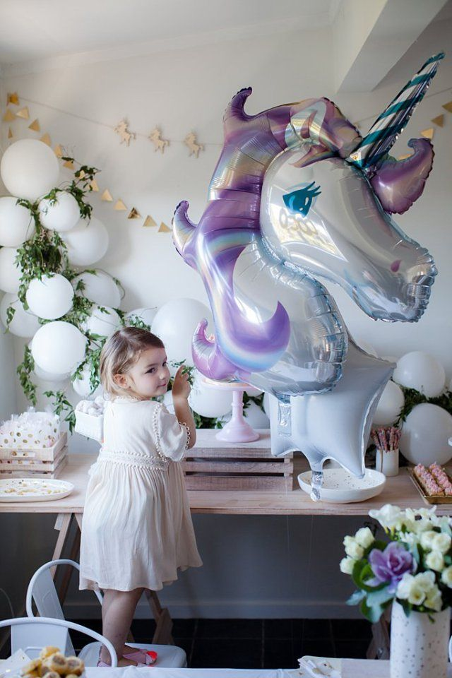 Pop Roc Parties   Unicorn Party   Coco's 3rd Birthday 2016   Unicorn Party Supplies   Nadine Canestri Photography