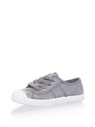 45% OFF Cienta Kid's Lace-Up Sneaker (Grey)