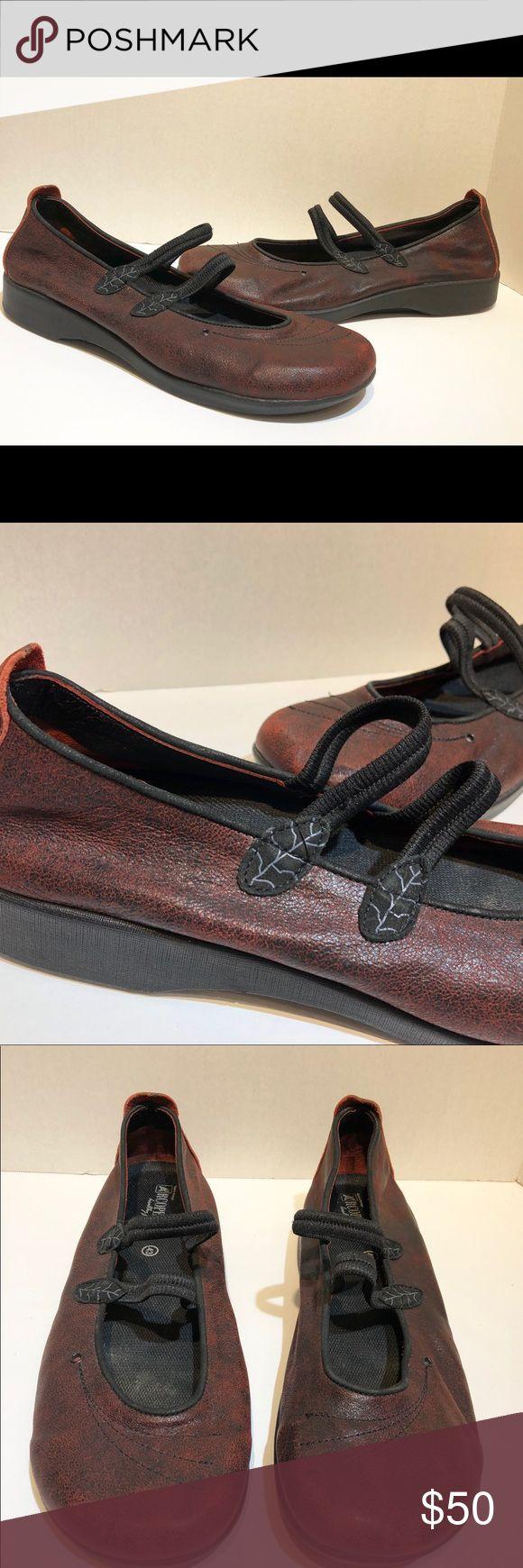arcopedico Womens Burgundy Mary Janes Size 12 arcopedico Womens Burgundy Mary Janes Size 43 US Size 12 EUC arcopedico Shoes Flats & Loafers