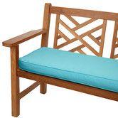 Found it at Wayfair - Outdoor Sunbrella Bench Cushion