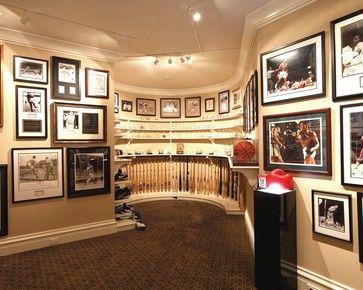 Sports Memorabilia Design Ideas, Pictures, Remodel and Decor