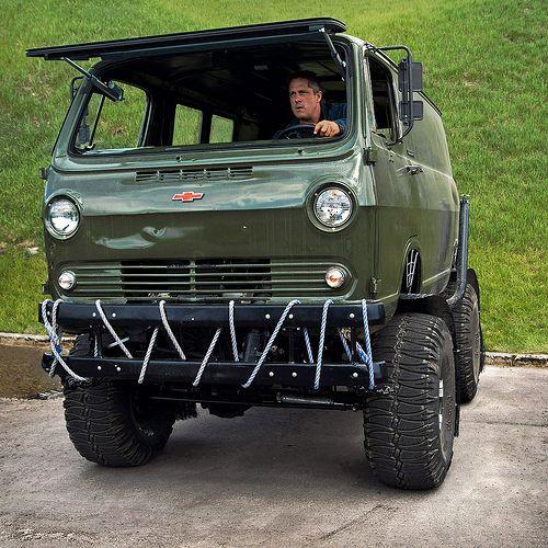 Off-Road Van | 1964? Chevy off road van
