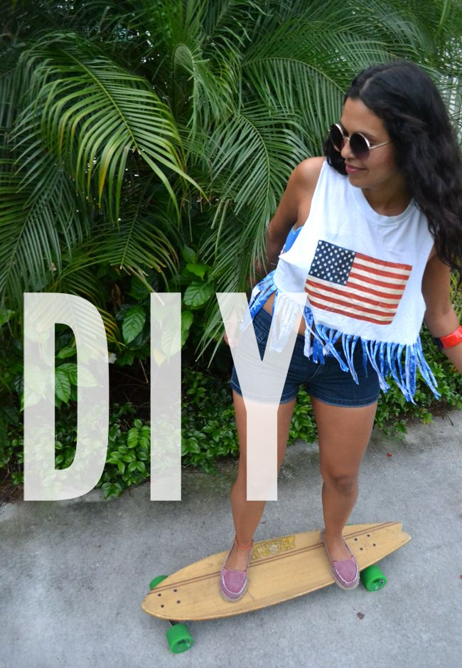 DIY-Americana [xiokat]  Katty's DIY 4th of July shirt - super cute with step by step instructions, check it out