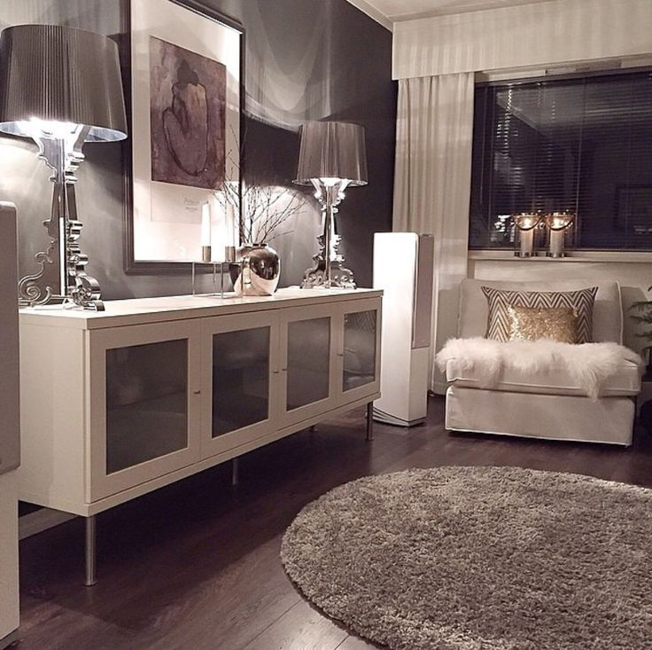 Decorating Advice: Elements Of Modern Glamour U2014 The Decorista Glamorous  Interior Design Ideas Modern Living Room, Decoration Ideas, Home Design  Ideas | More ...
