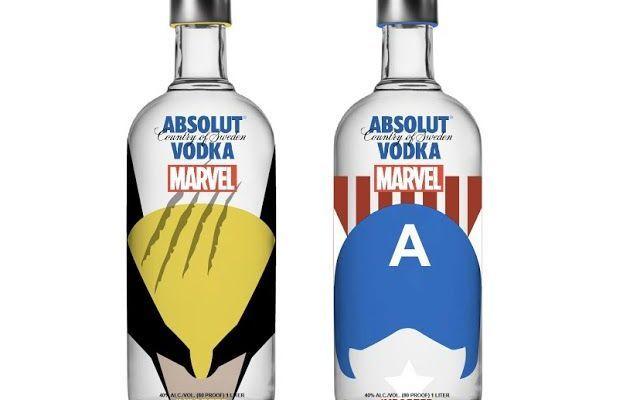 Absolut si veste coi personaggi Marvel Absolut, una delle vodke più famose e riconoscibili al mondo è stata rivestita da una giovane designer indonesiana. Krizia Soetaniman per gioco ha creato un nuovo concept: ha preso le classiche botti #design #packaging #vodka