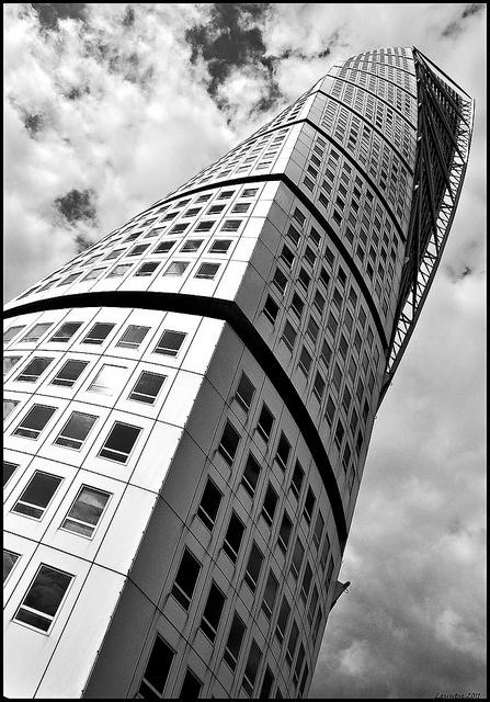 Turning Torso building, Malmo, Sweden (Santiago Calatrava)