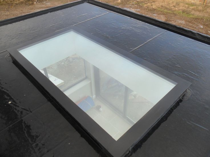 flat roof light