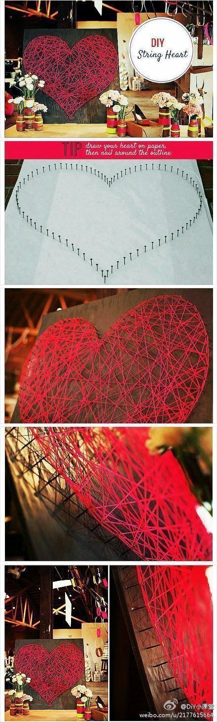 DIY: String Heart