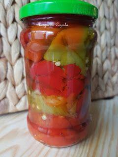 Amigos na Cozinha: Conserva de pimentos assados