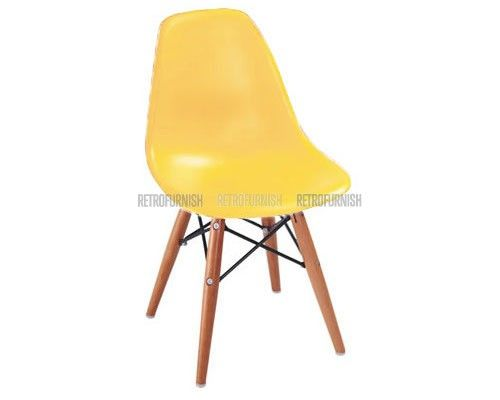 Kids DSW Eames Style Chair Yellow