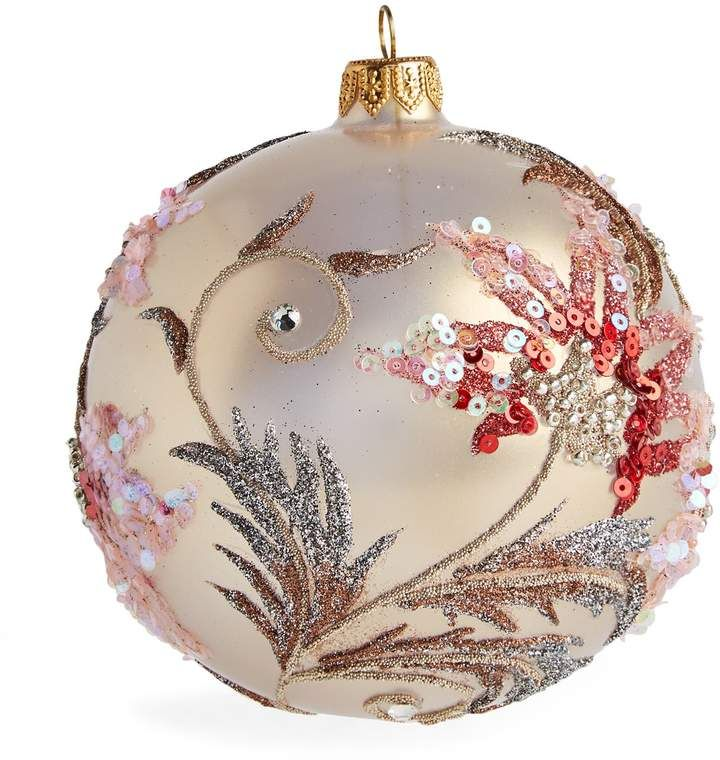 Harrods Uk The World S Leading Luxury Department Store Painted Christmas Ornaments Christmas Tree Decorations To Make Glitter Christmas