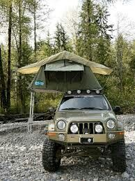 Top of Jeep tent