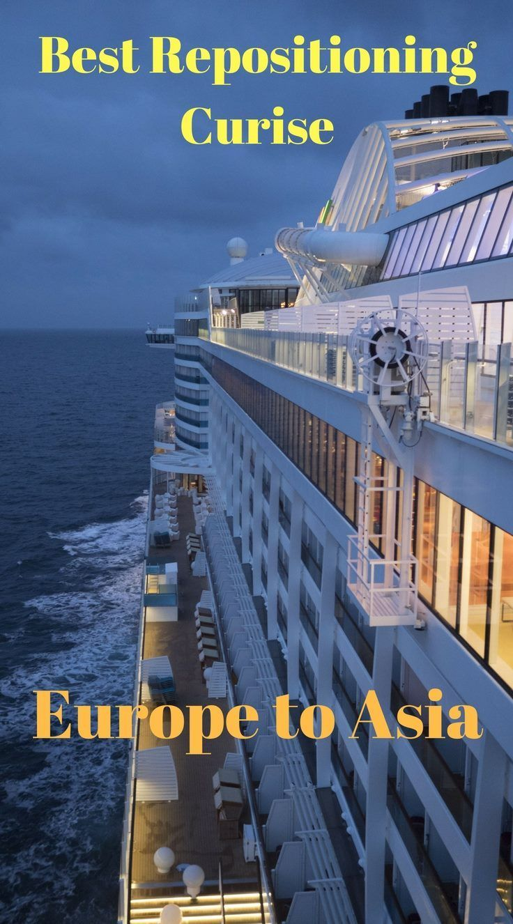 Review of Repositioning Cruise from Europe to Singapore on Majestic Princess. Cruise ports of call. What to do on a Mediterranean to Asia Cruise. #cruising #majesticprincess