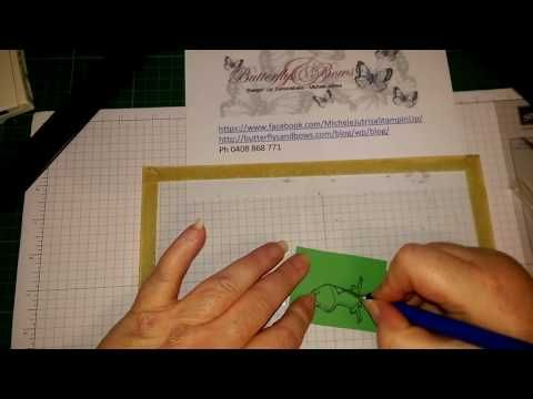 YouTube Michele's Tips on Fussy Cutting