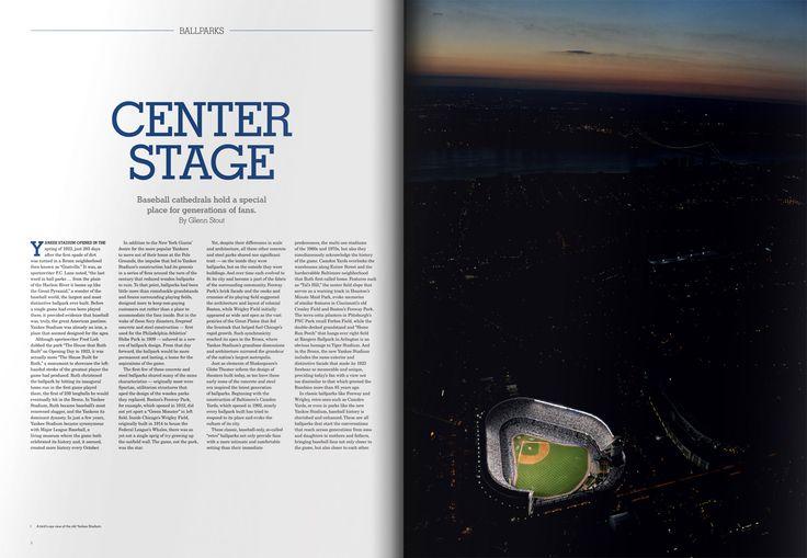 #Aerial photo of a ballpark at night #MLB #baseball #book #design