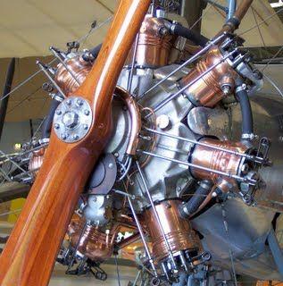 motor radial con 7 cilindros