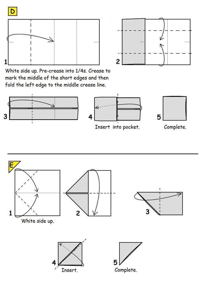 7 best origami  piezas de ajedrez images on pinterest