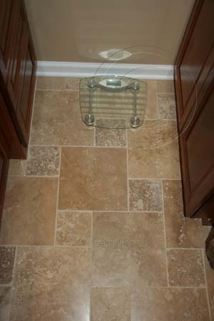 I like this tile/design for bathroom floor.